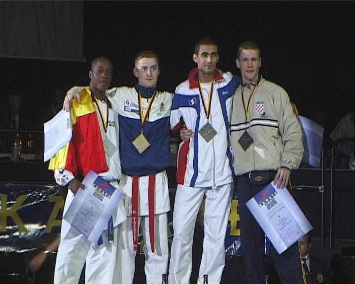 Чемпионат Европы 2003 в Бремене кумитэ до 70кг