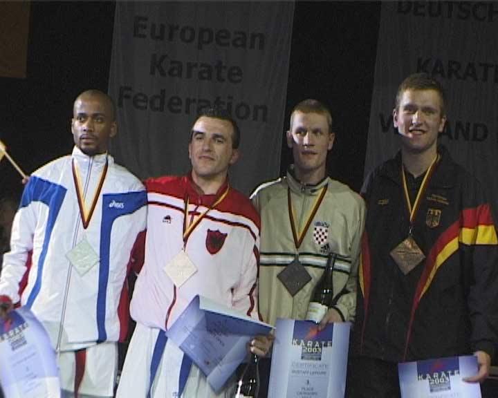 Чемпионат Европы в Бремене 2003 абсолютка