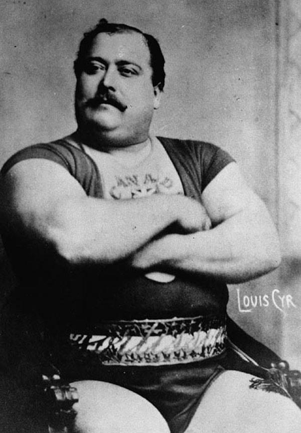 Луи Сир - силач «натуральной эпохи»! Эпохи, когда спортивной фармы, в том числе и стероидов не было!