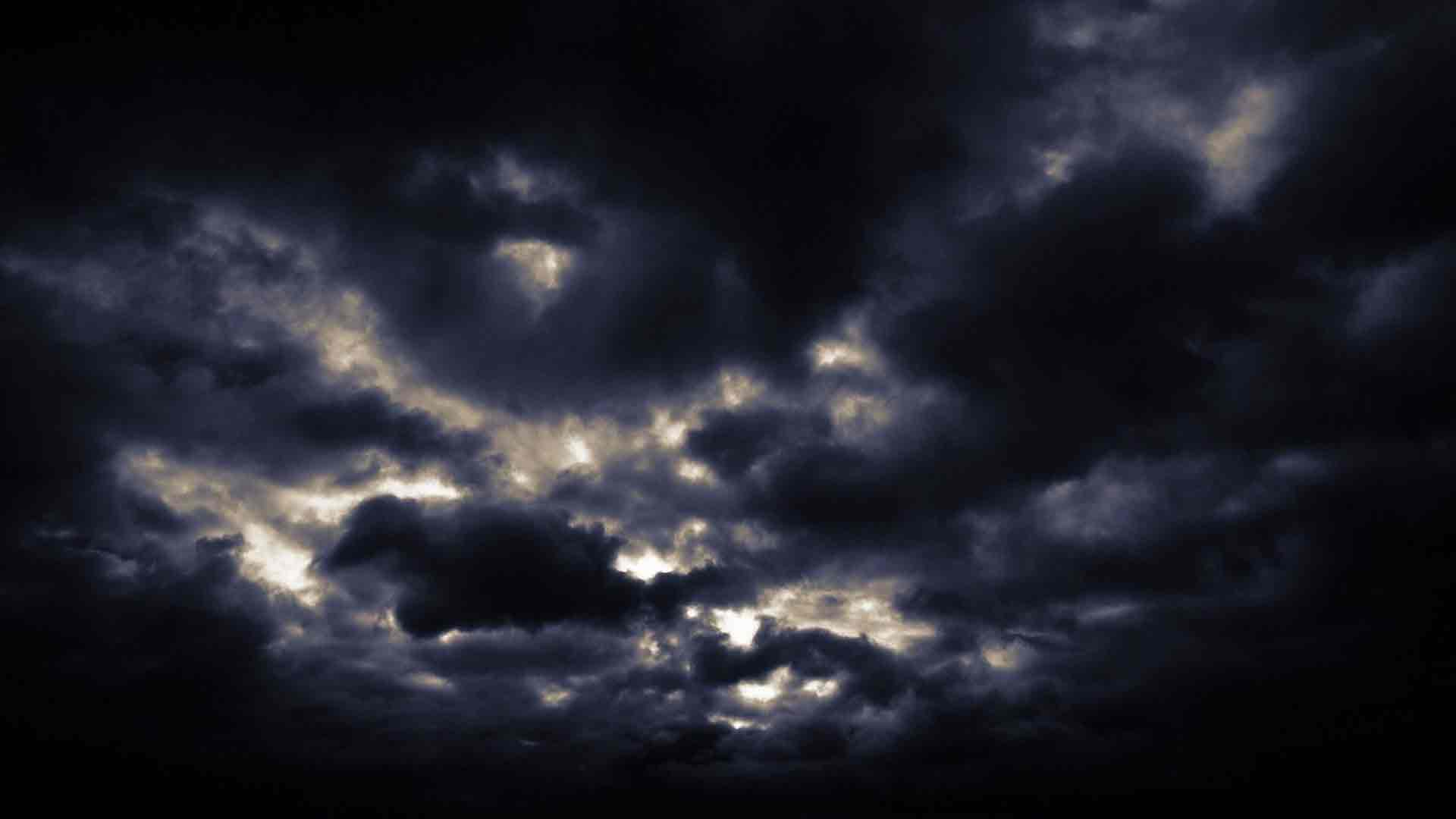 мрачное небо