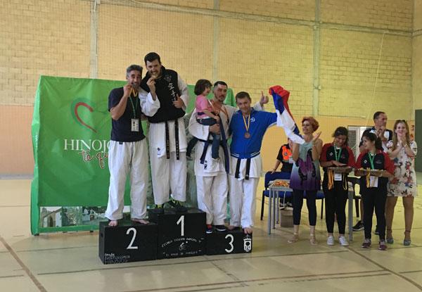 фото с турнира по каратэ на Европейских Играх 2016 года в Испании