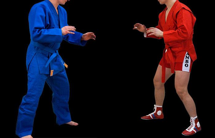 фото спортсменов в форме дзюдо и самбо