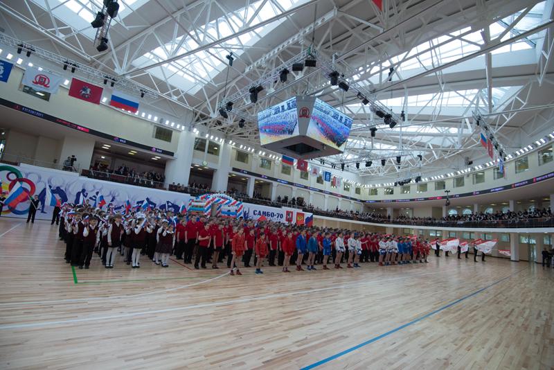 спортивная площадка Самбо-70
