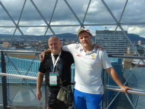 Сергей Каминский и Роман Сухарев