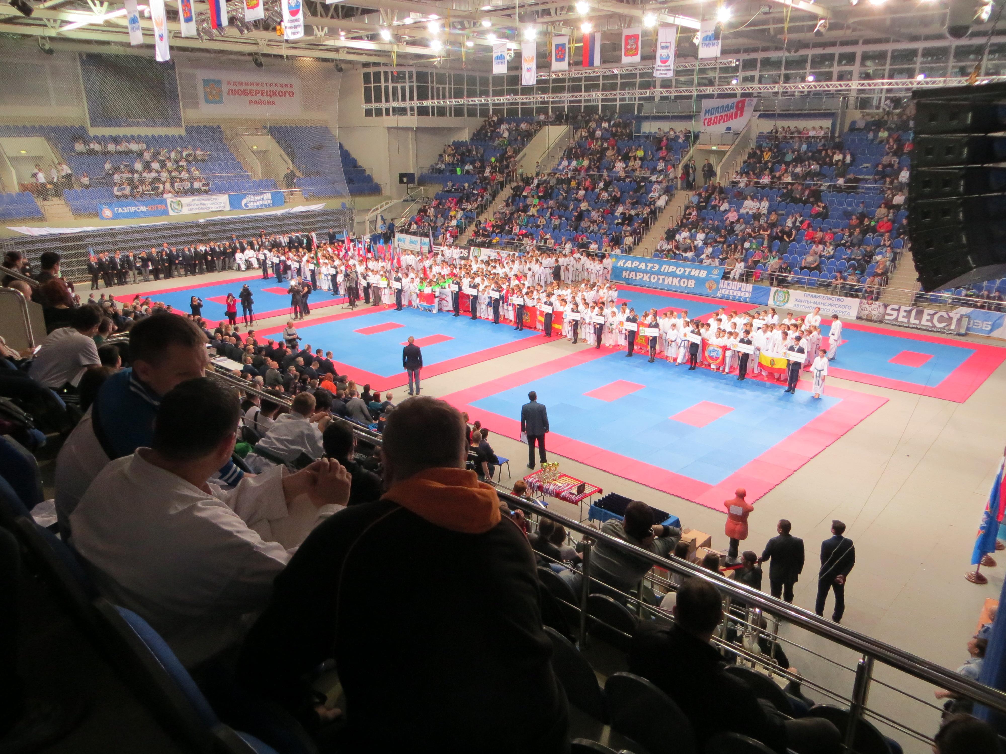 Фотография Турнира по каратэ имени Горбатко 2016 год общий план